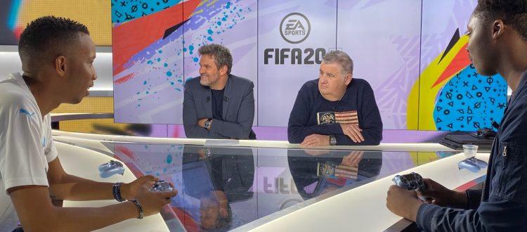 Évent EA Sports / Canal + teasing de OM / OL avec Hervé Mathoux & Pierre Ménès