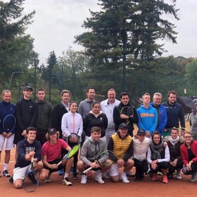 Finale du Jaguar Trophy a Chantilly avec Michael Llodra