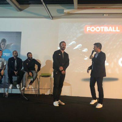 Convention Reebok - Go Sport à Grenoble avec Hervé Mathoux