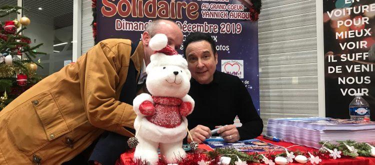 Noël Solidaire avec Jean-Marc Généreux