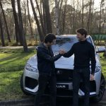 Evenement Jaguar avec Romain Grosjean