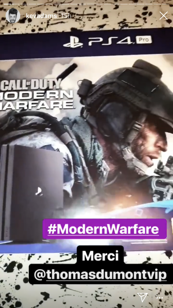 Opération digitale Call of Duty Modern Warfare