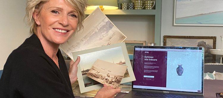 Vente aux enchères de Sophie Davant pour eBay