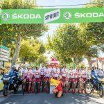 Tour de France avec Inès Vandamme, Candice Pascal, Katrina Patchett, Claude Dartois, Laurent Maistret etc....