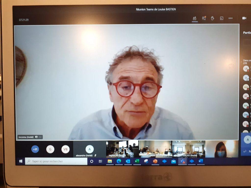 Séminaire digital avec Guy Noves