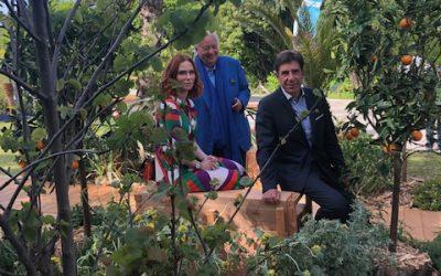 Festival des Jardins avec Audrey Fleurot
