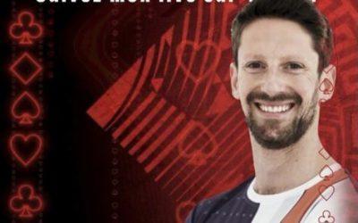Opération PokerStars avec Romain Grosjean - Tournoi de poker en ligne