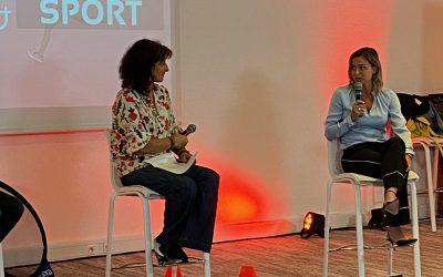Conférence sport et santé avec Laure Boulleau