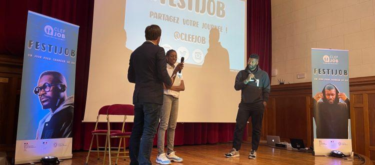 Les FestiJob avec Djibril Cissé