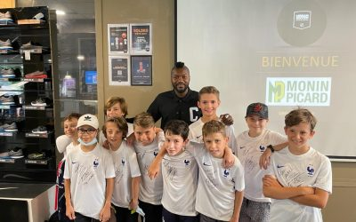 Tournoi de football avec Djbril Cissé