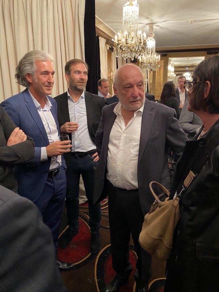Dîner Parisien avec François Berléand